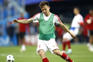 Golovin learning English amid links to Chelsea and Arsenal