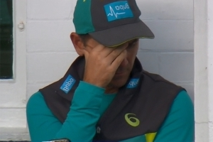 Langer speechless after ridiculous run
