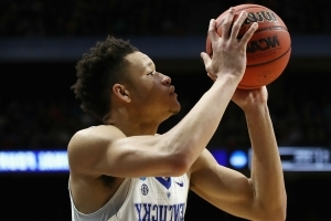 NBA Draft 2018: Kevin Knox pressed about his nonexistent child in combine interview