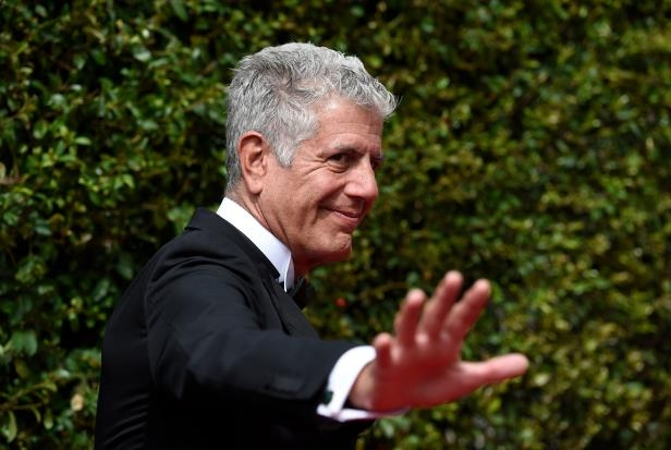 a man wearing a suit and tie: Anthony Bourdain, the famed chef, author and television correspondent, killed himself in a French hotel room earlier this month.