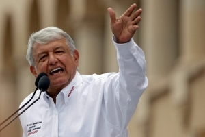 Mexican leftist's big lead narrows slightly: poll