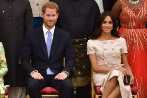 Meghan Markle Crossed Her Legs Today and the World Started Freaking Out