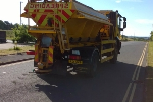 Gritters deployed to protect roads amid heatwave