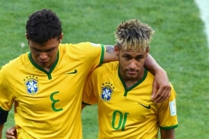 Stories of Neymar rift were a joke, claims Brazil star Thiago Silva