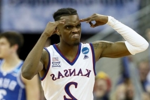 Lagerald Vick's return to Kansas gives the Jayhawks a needed perimeter threat