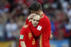 Andres Iniesta Confirms International Retirement After Spain Crash Out of World Cup