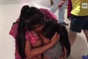 7-year-old reunited with her mom after nearly 2 months in immigration detention