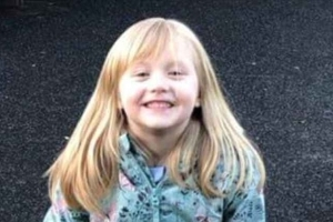 Body of missing Alesha, six, is found in woodland hours after her grandmother raised the alarm on Facebook when she vanished from family's home