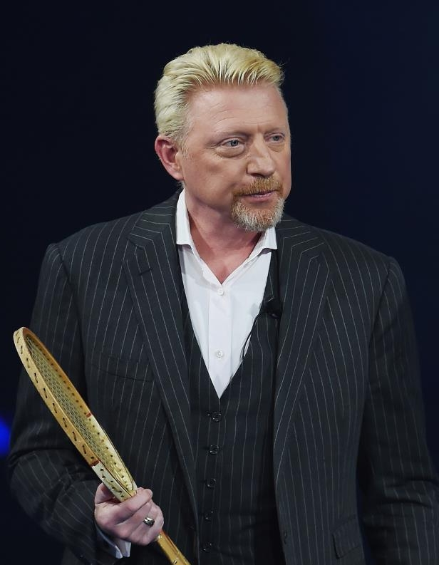 Boris Becker goes red after turning air blue in BBC chat
