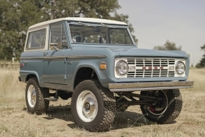 Icon 4x4 creates the Old School BR, a Ford Bronco made better