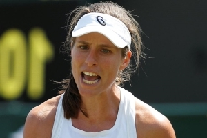 Johanna Konta beats Natalia Vikhlyantseva in straight sets to reach Wimbledon 2018 second round