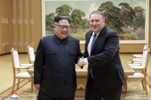 As Pompeo heads to North Korea, State Department denies softening
