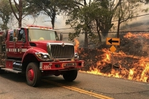 Firefighters make progress on Northern California wildfire