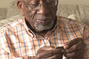 WWII Vet Ronald F. Gaines Reunited With His Dog Tag After More Than 7 Decades