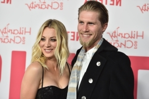 Newlywed Kaley Cuoco ends up 'honeymooning in hospital' - but assures fans she's 'on the road to recovery'