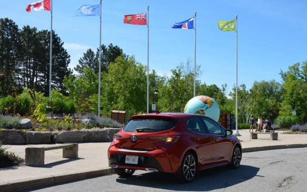 Reviews First Look Toyota Corolla Hatchback Is Fashionably Late