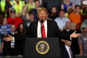 Trump mocks #MeToo movement in Montana rally