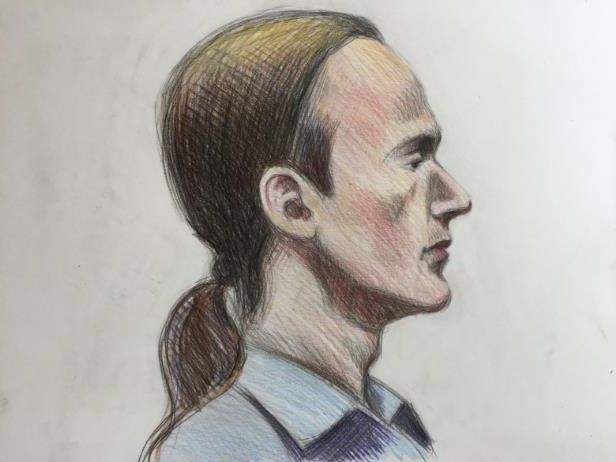 a drawing of a person: Kyllan Ellis was found guilty of second-degree murder in May 2018.