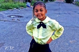 Baltimore police arrest driver of car in which 7-year-old girl was shot