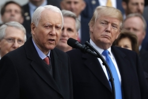 Orrin Hatch may have given a clue about Trump's Supreme Court pick