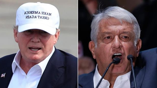Andres Manuel Lopez Obrador wearing a suit and tie