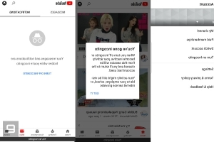 All Android users can now use YouTube's incognito mode
