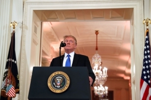 Donald Trump says he did not discuss abortion with Brett Kavanaugh