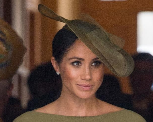 Meghan Markle looked stunning in head to toe green at Prince Louis' christening