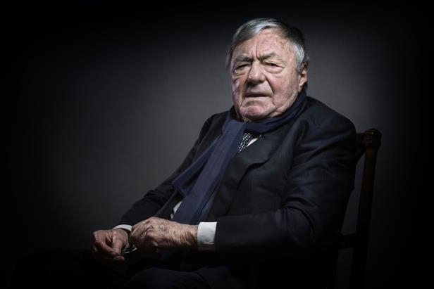 Slide 1 of 137: French writer, journalist and movie producer Claude Lanzmann poses in Paris on February 11, 2016. / AFP / JOEL SAGET        (Photo credit should read JOEL SAGET/AFP/Getty Images)