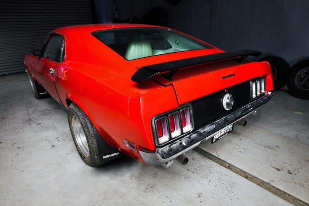 Slide 11 of 53: 007-1970-mustang-boss-429-right-rear.jpg