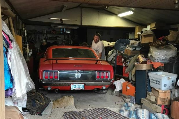 Slide 2 of 53: 052-1970-boss-249-mustang-alabama-shed.jpg