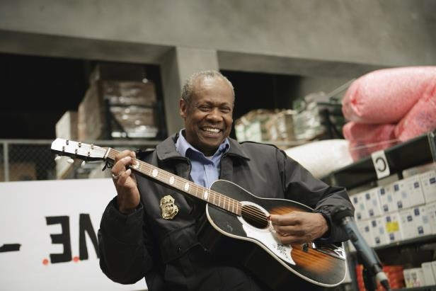 Slide 43 of 137: THE OFFICE -- 'Crime Aid' Episode 4 -- Pictured: Hugh Dane as Hank  (Photo by Mitch Haddad/NBC/NBCU Photo Bank via Getty Images)