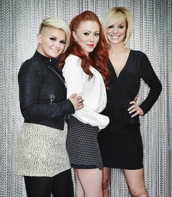 Liz McClarnon, Natasha Hamilton, Kerry Katona posing for the camera: 'Gutted': In May, Kerry lashed out at her former Atomic Kitten band mates in an emotional Instagram post in May after they announced 20th anniversary shows without her