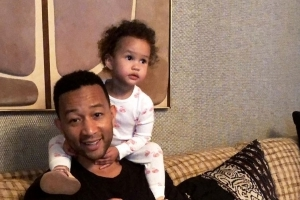 'No! No! No!' John Legend's Daughter Luna Isn't Exactly a Fan of His Singing in Hilarious Video