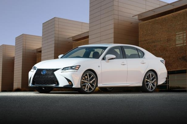 Slide 14 of 36: 2018-Lexus-GS-450h-F-Sport-01.jpg