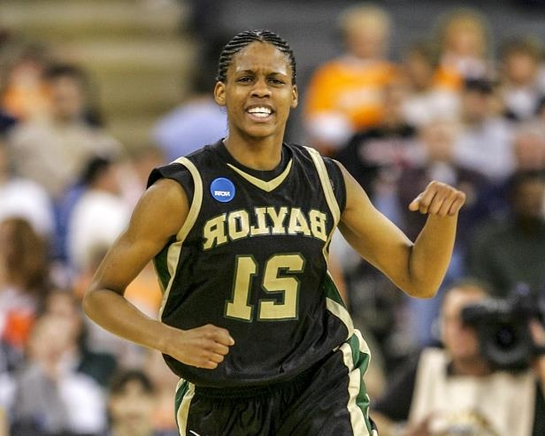 Slide 54 of 63: ​Former Baylor women's basketball player Chameka Scott has died of cancer. The 33-year-old Scott helped the Lady Bears win the program's first national championship in 2005, when she started 35 of the 36 games.​