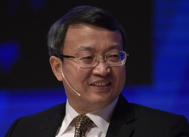 China's deputy commerce minister Wang Shouwen, pictured in 2017, called the US a