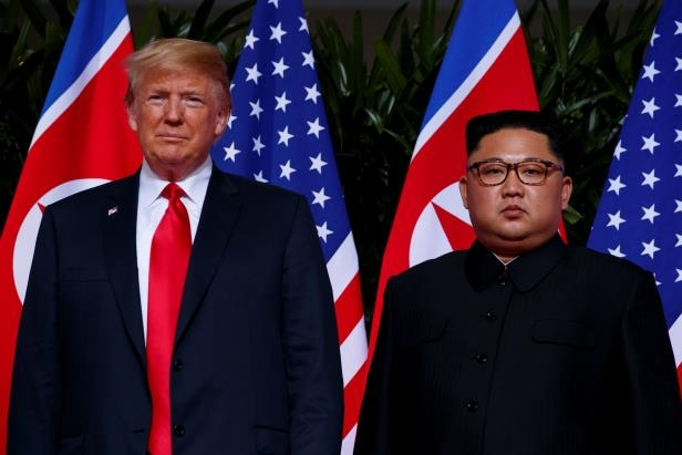 President Trump met with North Korean leader Kim Jong Un in a historic summit in Singapore on June 12.