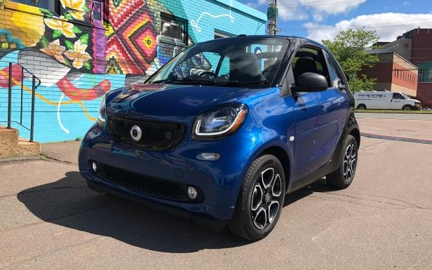 Slide 3 of 40: The 2018 smart EQ fortwo cabrio
