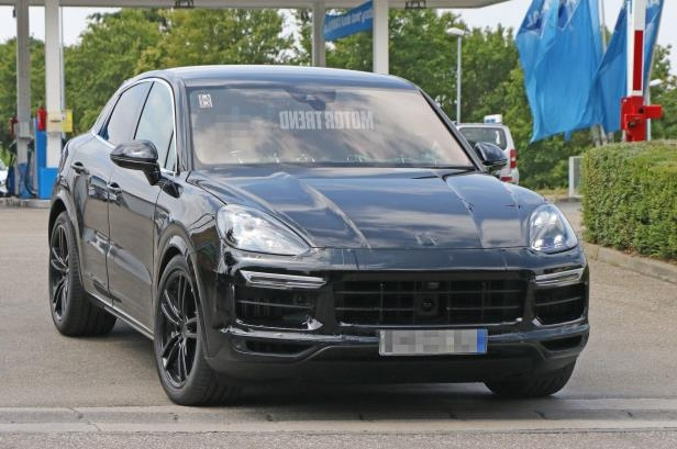 Slide 6 of 15: Porsche-Cayenne-Coupe-mule-front-three-quarters.jpg