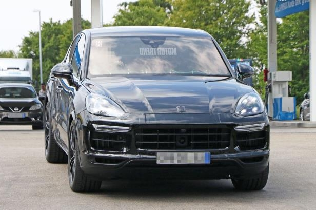 Slide 7 of 15: Porsche-Cayenne-Coupe-front-view.jpg