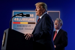 The Latest: Trump says US commitment to NATO remains strong