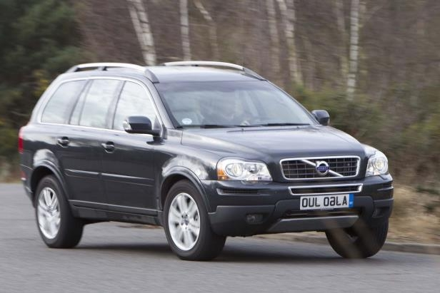 Volvo's XC90 has been rated the safest car in the UK