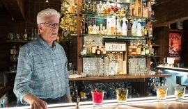 a man standing in front of a store: Ted Danson, The Good Place