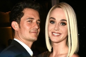 Katy Perry Steps Out in Lingerie Look for Date Night With Orlando Bloom in London