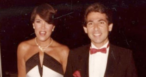 Robert Kardashian wearing a suit and tie posing for a photo: Kris Jenner Calls Cheating on Husband Robert Kardashian 'One of My Biggest Regrets in Life'