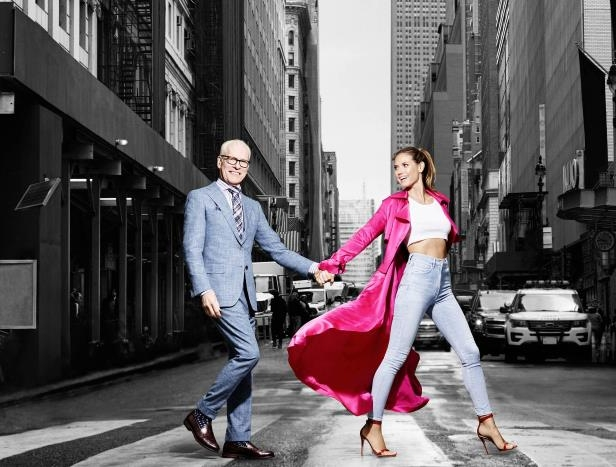 Slide 106 of 124: Heidi Klum and Tim Gunn,