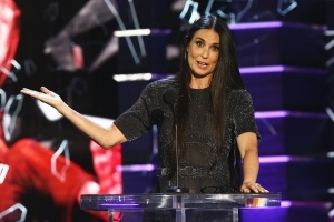 Demi Moore Makes Surprise Appearance To Mock Ex-Husband Bruce Willis At Celebrity Roast