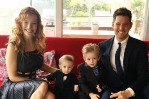 Michael Bublé has emotional first concert back since son's cancer diagnosis