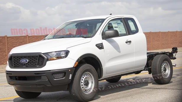 News 2019 Ford Ranger Xl Chassis Cab Spied Complete With